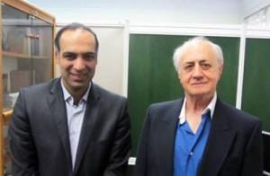 دکتر بیژن خرم و محمدرضا شعبانعلی همایش تخصصی تفکرسیستمی