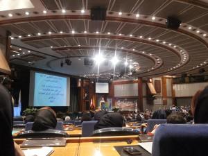 سخنرانی محمدرضا شعبانعلی در همایش تعالی سازمانی مجتمع فنی تهران