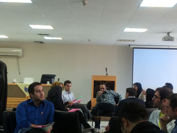 کارگاه آموزشی برنامه ریزی در مذاکره در دانشگاه شریف